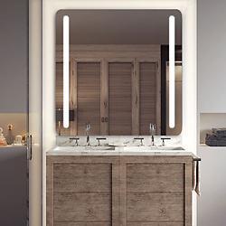 Bela Radius Lighted Mirror with AVA