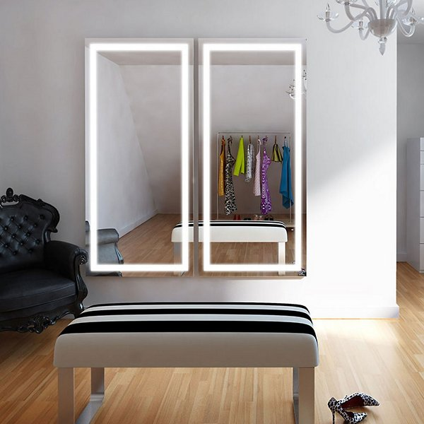 Integrity Wardrobe LED Lighted Mirror with AVA