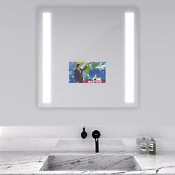 Fusion Lighted Mirror with Television