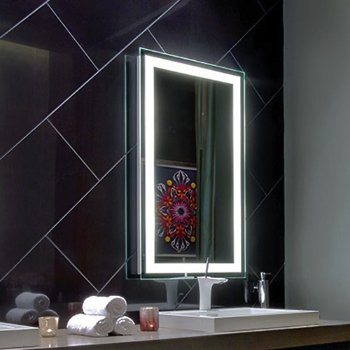 Integrity Lighted Mirror By Electric Mirror At Lumens Com