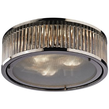 Shown in Polished Nickel finish, Large