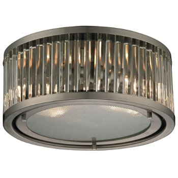 Shown in Brushed Nickel finish, Small
