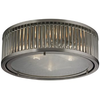 Shown in Brushed Nickel finish, Large