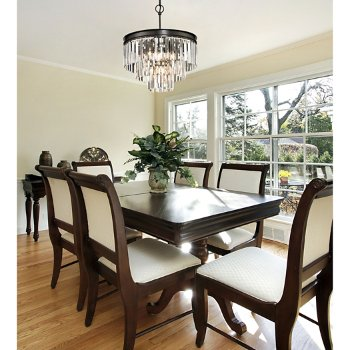 Palacial Chandelier, in use