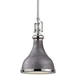 Rutherford Small Pendant (Nickel/Zinc) - OPEN BOX RETURN