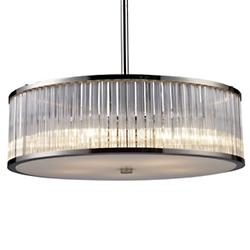 Braxton Drum Pendant/Semi-Flushmount (Large) - OPEN BOX