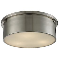 Simpson Flushmount (Brushed Nickel/Large) - OPEN BOX RETURN