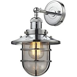 Seaport Wall Sconce (Polished Chrome) - OPEN BOX