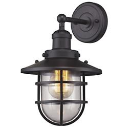 Seaport Wall Sconce (Oil Rubbed Bronze) - OPEN BOX RETURN