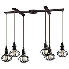 Yardley 14191 Slim 6-Light Linear Suspension