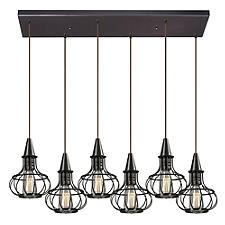 Yardley 14191 6-Light Linear Suspension