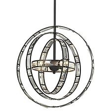 Crystal Orbs Pendant Light