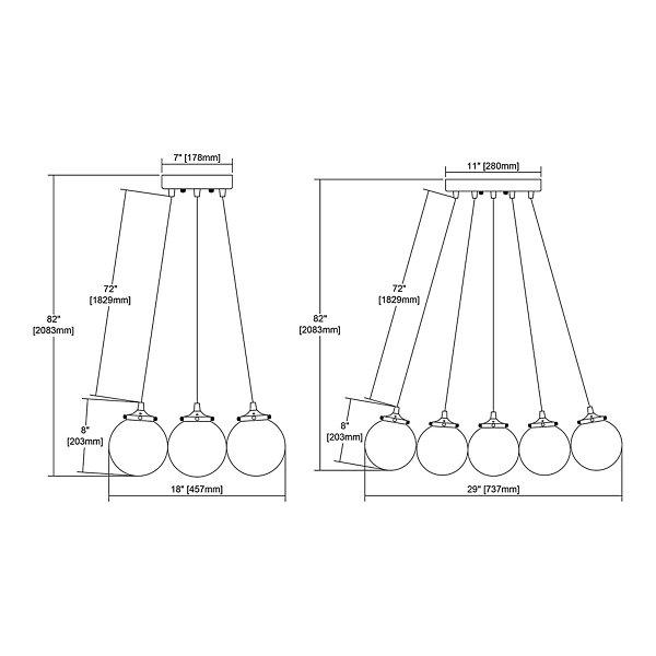 Boudreaux Multi-Light Pendant
