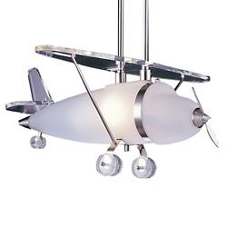 Prop Plane Pendant (Satin Nickel) - OPEN BOX RETURN