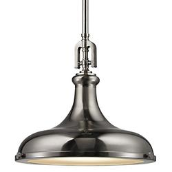 Rutherford Pendant (Brushed Nickel/15) - OPEN BOX RETURN