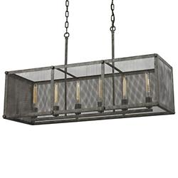 Perry Linear Suspension (6 lights) - OPEN BOX RETURN