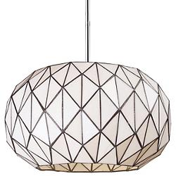 Tetra Chandelier (White Tiffany) - OPEN BOX