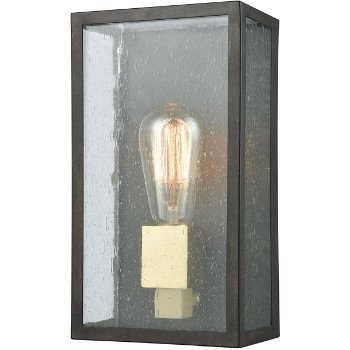 Shown in Blackened Bronze finish with Small size, lit