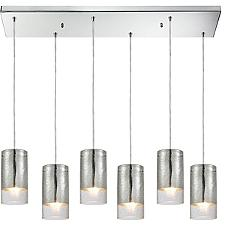 Tallula 6 Light Linear Pendant
