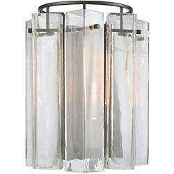 Cubic Glass Wall Sconce