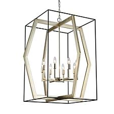 Mixed Geometries Chandelier