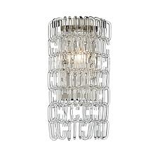 Glass Ribbon Wall Sconce