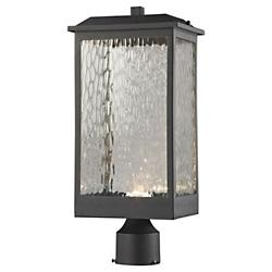 Newcastle LED Outdoor Post Light (Matte Black) - OPEN BOX