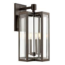 Bianca 4 Light Outdoor Wall Sconce(Hazelnut Bronze)-OPEN BOX