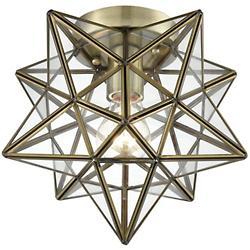 Moravian Star Flushmount