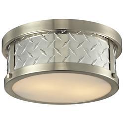 Diamond Plate Flushmount