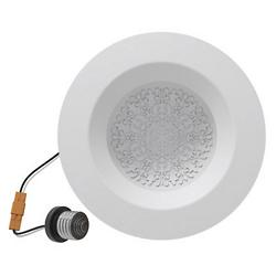 Fleur 6 Inch Reflections Retrofit LED Trim