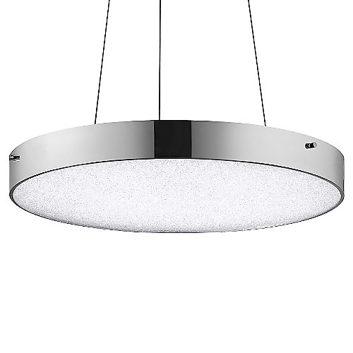 Crystal moon led pendant by elan lighting at lumens com