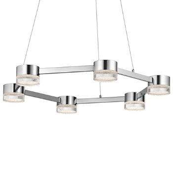 Avenza LED 6-Light Chandelier