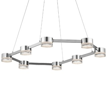 Avenza LED 8-Light Chandelier