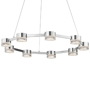 Avenza LED 9-Light Chandelier