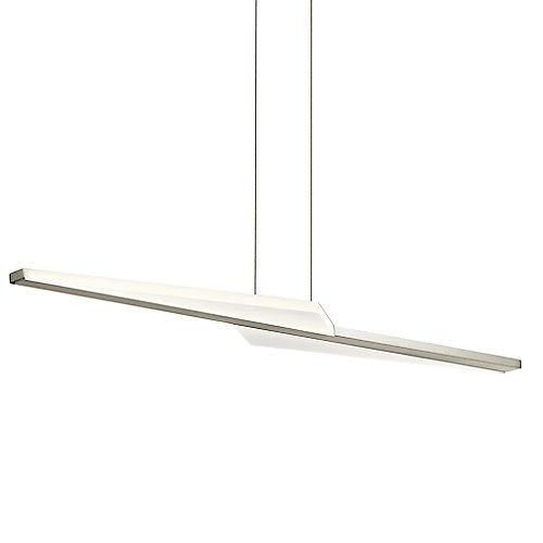 Flash led linear suspension by elan lighting at lumens com