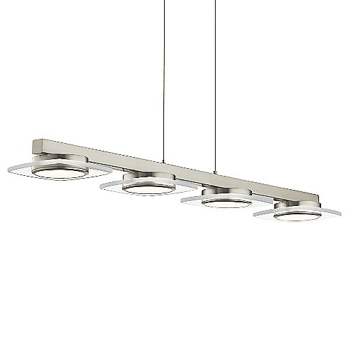Azenda led linear suspension by elan lighting at lumens com