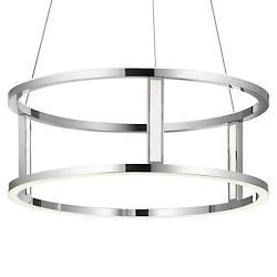 Mira LED Drum Pendant