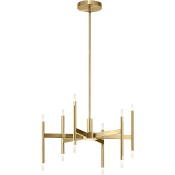 Shown in Champagne Gold finish
