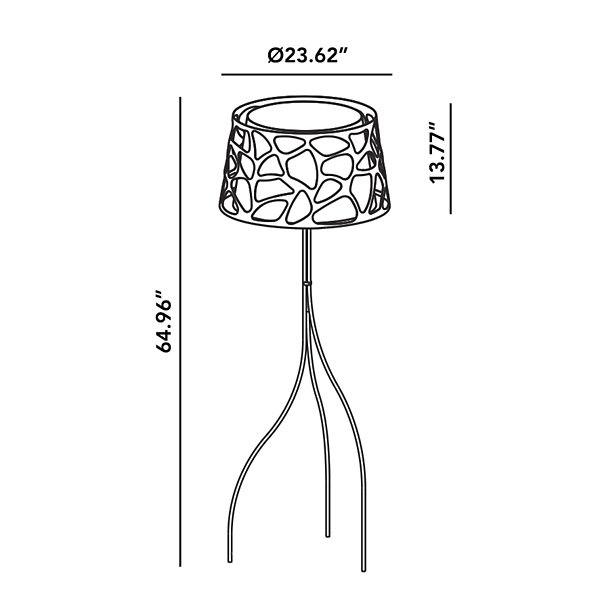Organic Floor Lamp