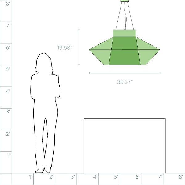 Koord Large Pendant