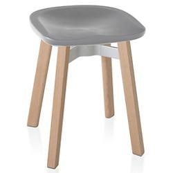 Su Small Stool, Plastic Seat