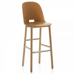 Alfi Stool, High Back