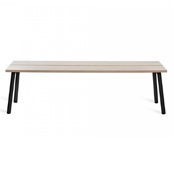 Run Bench - Black Frame
