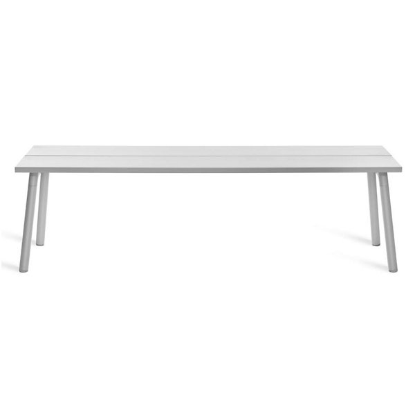 Run Bench - Clear Anodized Frame