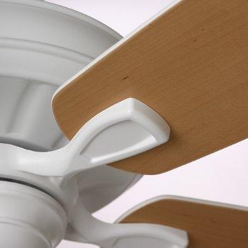 Shown in Satin White with Satin White/Maple