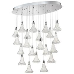 Alta Oval Multi Light LED Pendant
