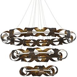Banderia LED 3-Tier Chandelier