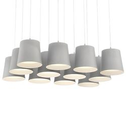 Borto 12-Light LED Multi Light Pendant