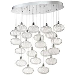 Orlando Oval LED Multi Light Pendant